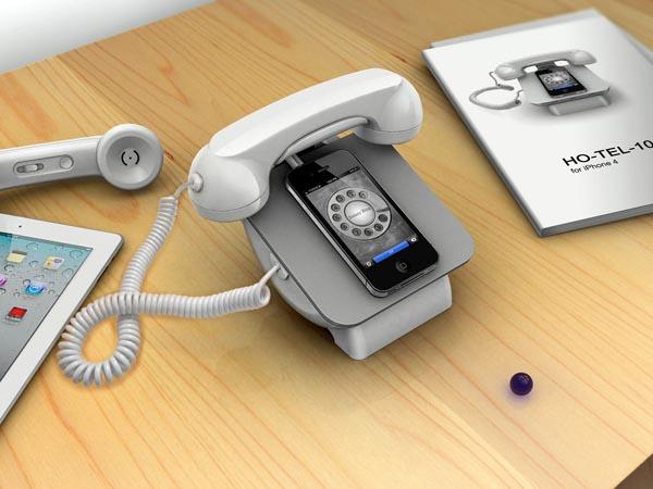 ретро-док для iPhone