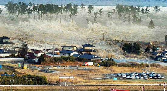 самое большое цунами