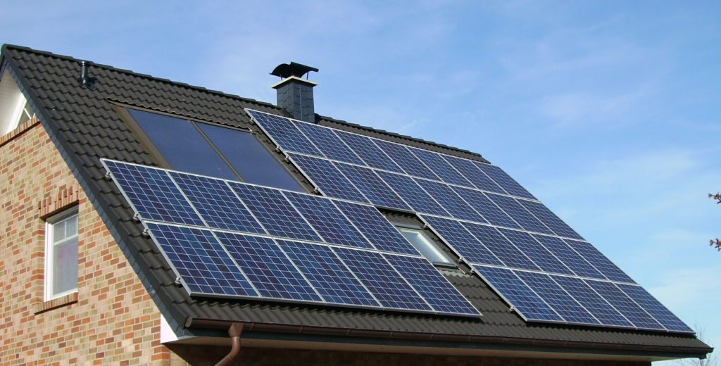 солнечное энергоснабжение дома