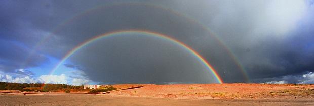 двойная радуга удача