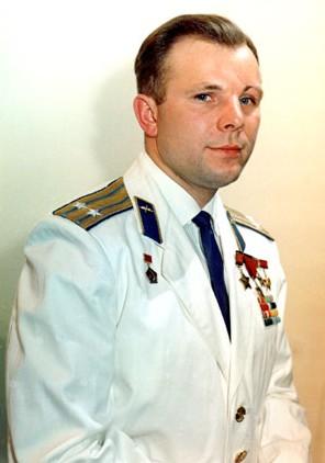 Юрий Гагарин первый человек в космосе