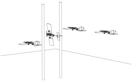 полет на выставке