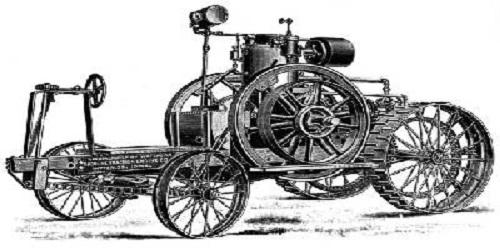 первый трактор изобретен