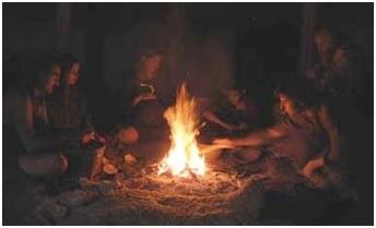 применение огня
