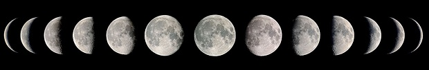 8 фаз луны