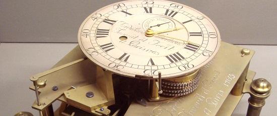 первые пружинные часы