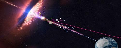 ливень космического излучения