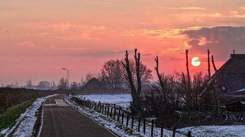 зимнее небо