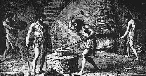 начало производства железа