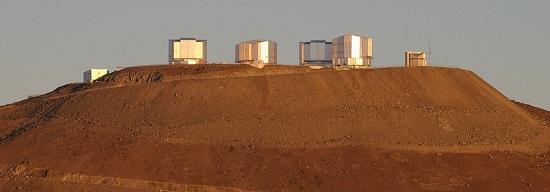 обсерватории ESO в Чили