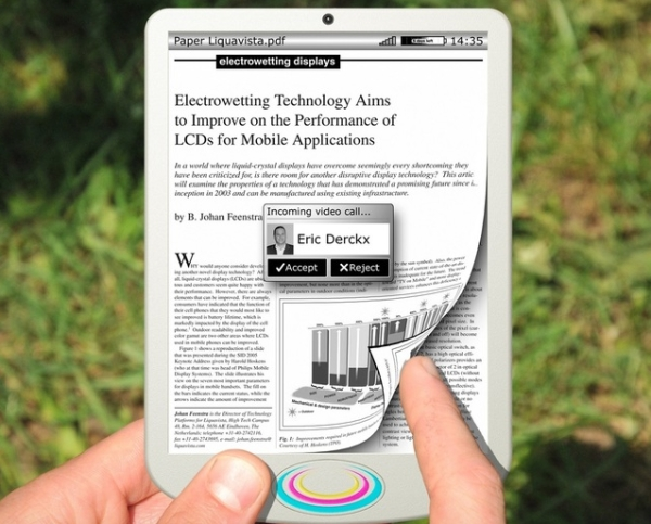 Технология электросмачивания