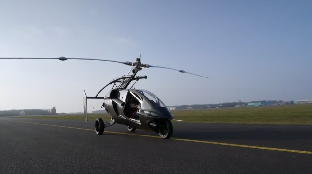 летающий авто