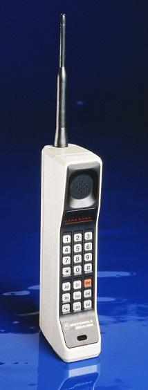 первый сотовый телефон
