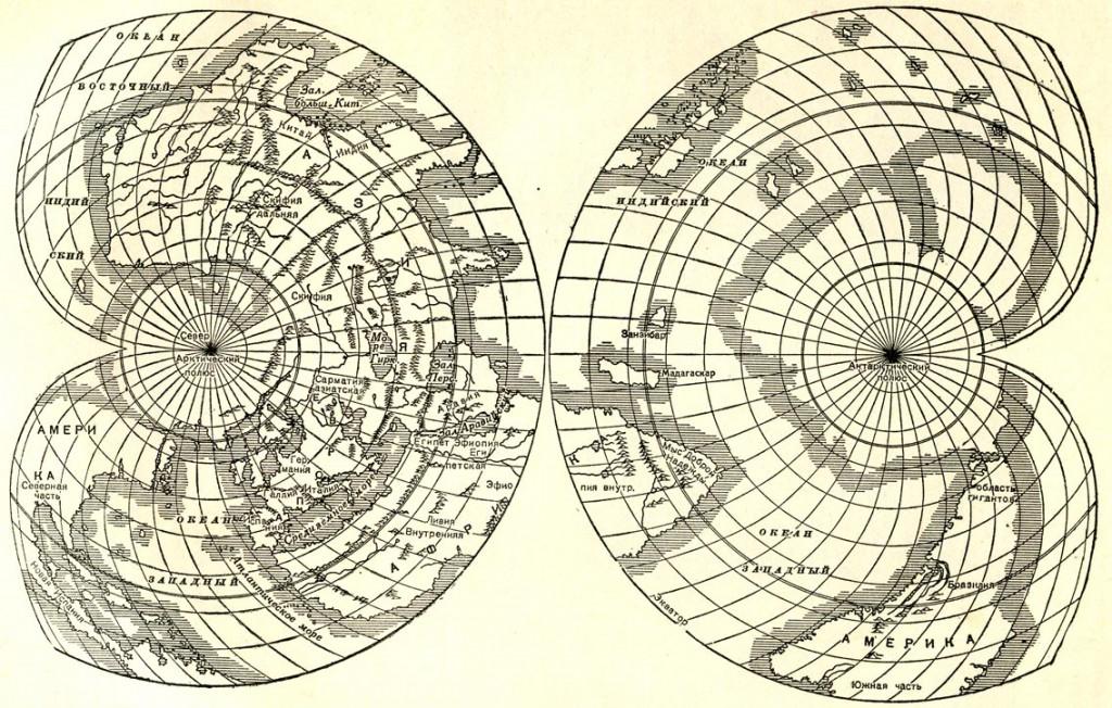 самые древние карты