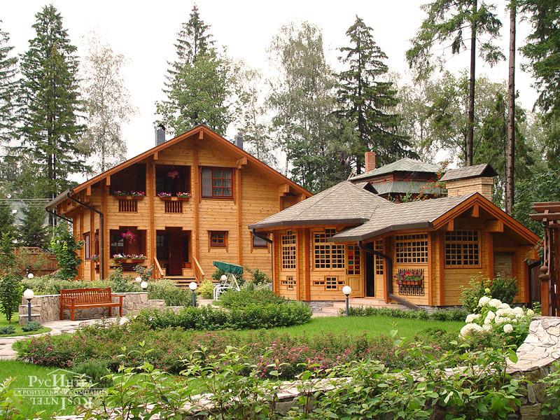 поставить дом из бруса