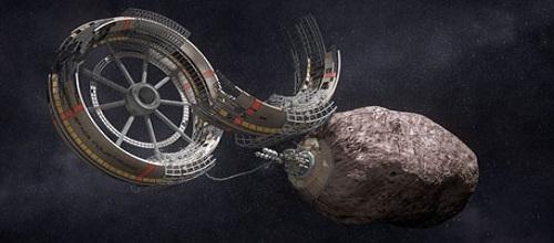 Астероид как строительный материал