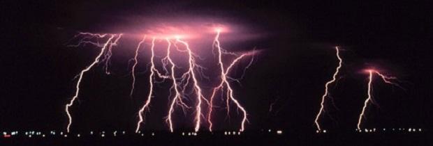 как образуется молния