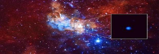 сверхмассивная черная дыра в центре Галактики