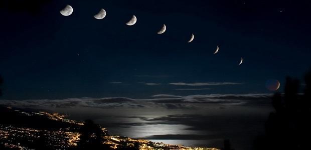 облик луны