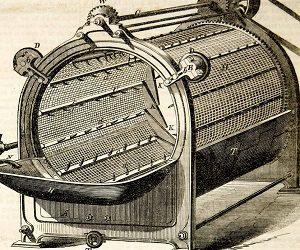 первая электрическая стиральная машина
