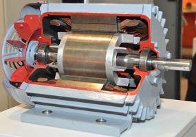 система плавного пуска электродвигателя