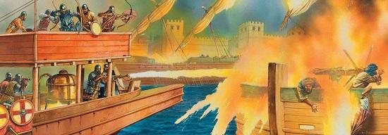 применение огня в бою