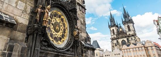 первые часы в Европе