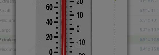 первый ртутный термометр