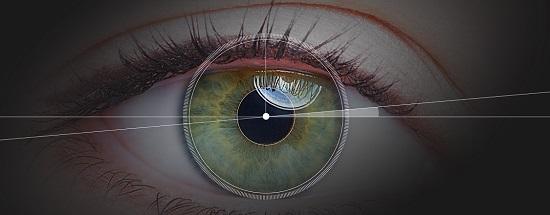 сделаны контактные линзы