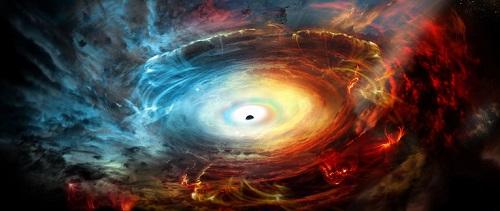 Что происходит в черной дыре