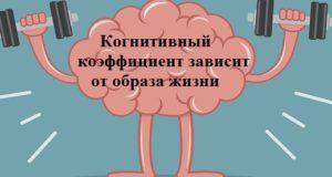 когнитивный коэффициент