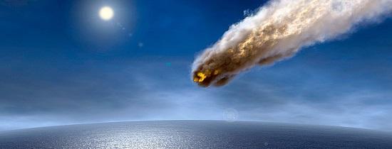 прилетевшие метеориты