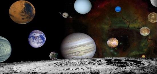 из чего состоят планеты