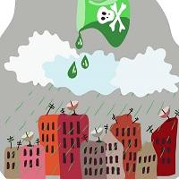 причины кислотных дождей