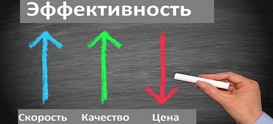понятие эффективности
