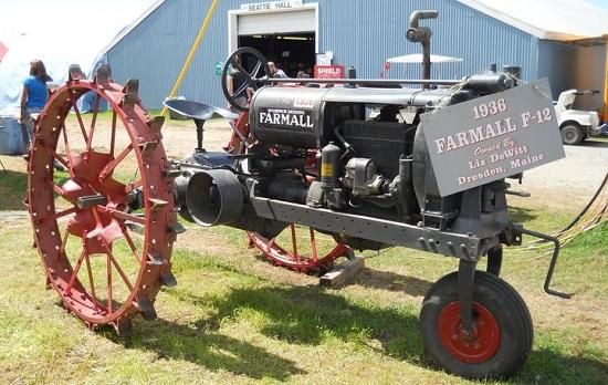 первые тракторы