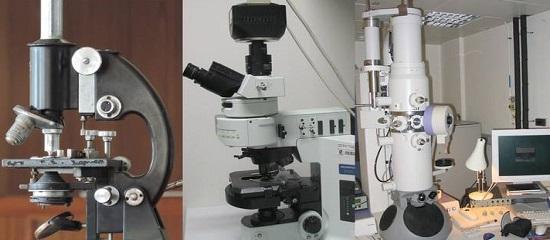 типы микроскопов